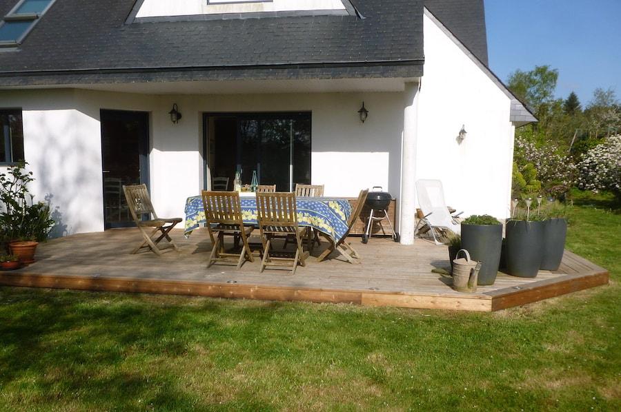 Aménagement extérieur & création de Terrasse à Nantes - IVISO